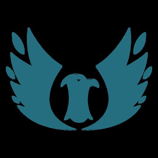 Pájaro águila ala silueta Transparent PNG