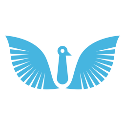 Vogel Flügelschnabel Silhouette