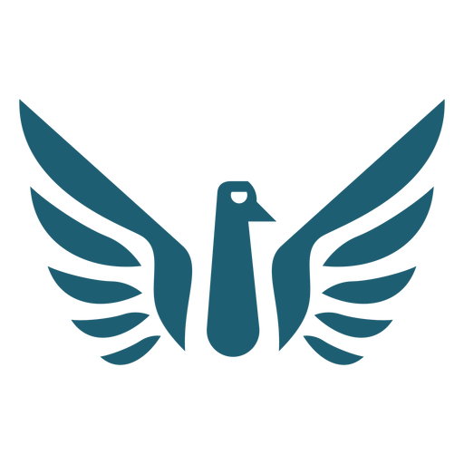 Bird wing silhouette Transparent PNG