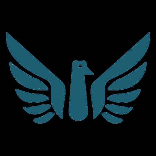 Silueta de ala de pájaro Transparent PNG