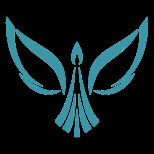 Logotipo de la cola de ala de pájaro logotipo Transparent PNG