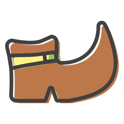 Boot shoe sole stroke