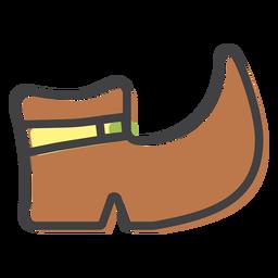 Stiefelschuhsohlenschlag
