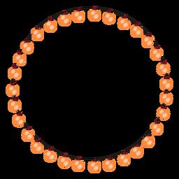 Ilustração de Natal de Natal de bulbo de guirlanda de bolha