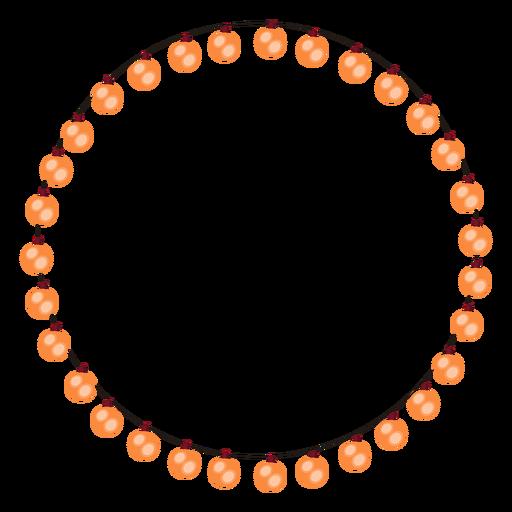 Ilustração de Natal de Natal de bulbo de guirlanda de bolha Transparent PNG