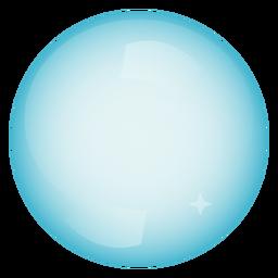 Ilustración de círculo de esfera de burbuja