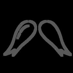 Doodle de flor do broto