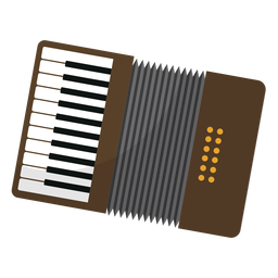 Button accordion accordion flat
