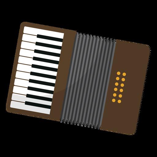 Button accordion accordion flat