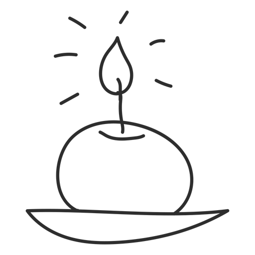 Curso de doodle de vela Transparent PNG