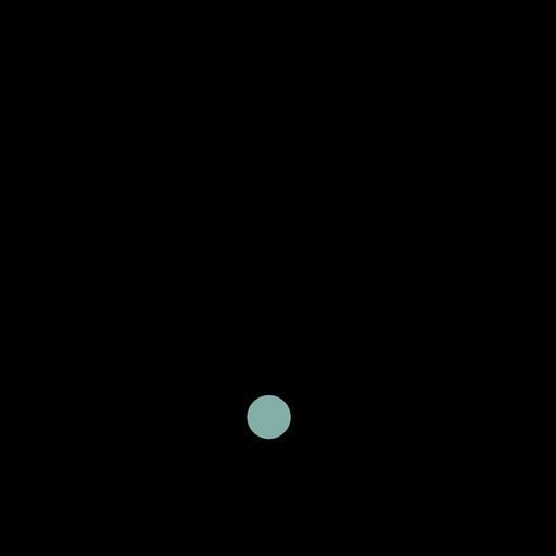Nuvem semeando o traço do ícone Transparent PNG