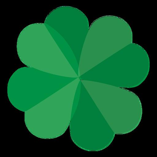 Clover leaf flat Transparent PNG