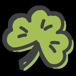 Clover leaf stroke