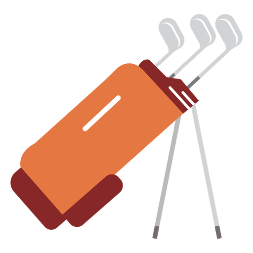Club bag golf illustration Transparent PNG