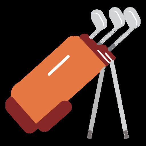 Ilustração de golfe de saco de clube Transparent PNG