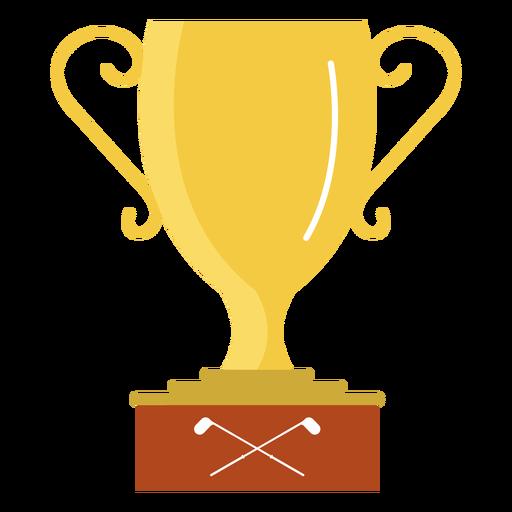 Cup golf illustration