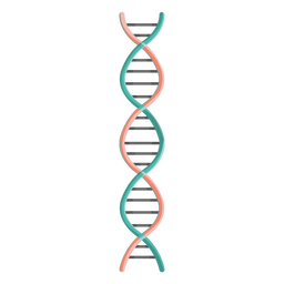 Dna chain illustration