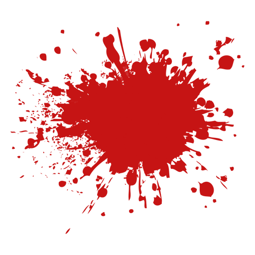 Drop pool blood splatter Transparent PNG