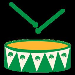 Tambor tambor plano