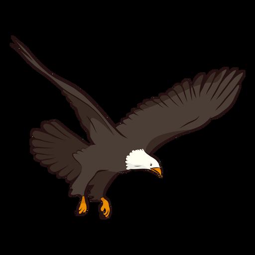 Ilustración de cola de ala de águila Transparent PNG