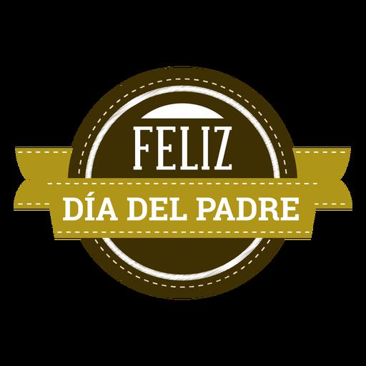 Insignia de la inscripción de la viñeta del sombrero del bigote del corazón del día de padre Transparent PNG