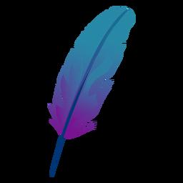 Ilustración de la pluma