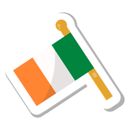 Flag ireland sticker