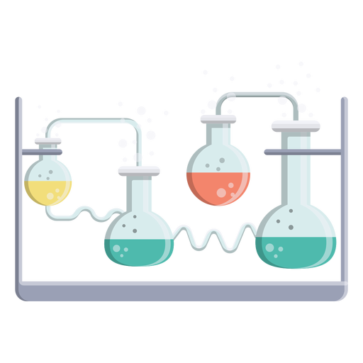 Flask liquid fluid bead bubble illustration Transparent PNG