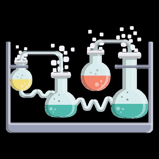 Ilustração de bolha flask fluido líquido grânulo Transparent PNG