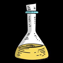 Frasco líquido líquido plano