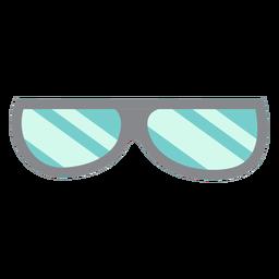 Glasses flat