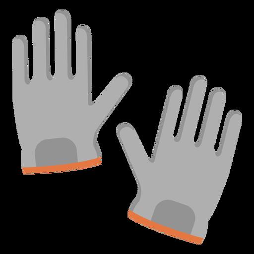 Glove pair illustration Transparent PNG
