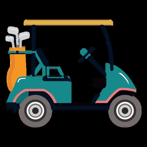 Ilustração de golfe do carrinho de golfe Transparent PNG