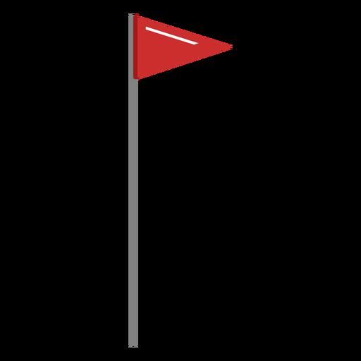 Golf flag illustration