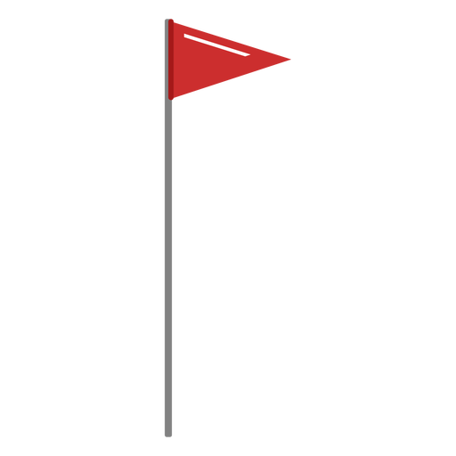 Ilustración de la bandera de golf Transparent PNG