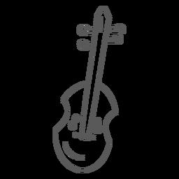 Gitarren-Mandoline-Gekritzel