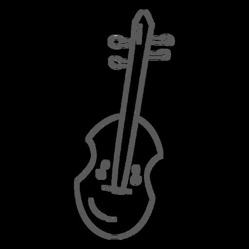 Doodle de mandoline de guitarra Transparent PNG