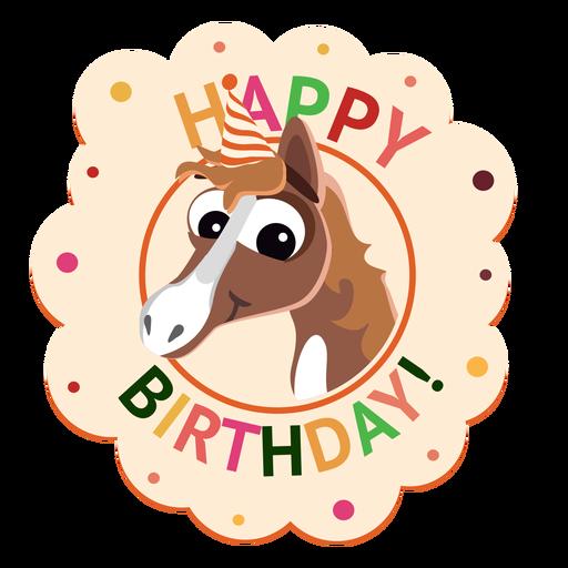 Ilustração de adesivo de distintivo de boné de pinguim feliz aniversário Transparent PNG