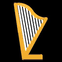 Corda de harpa plana