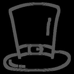Doodle de correa de sombrero
