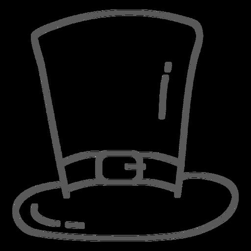 Doodle de correa de sombrero Transparent PNG