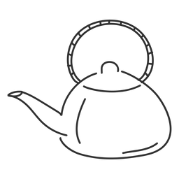 Boceto de asa de la caldera