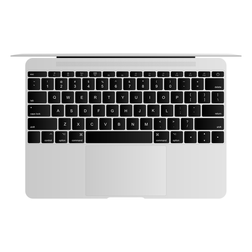 Ilustração de laptop teclado notebook netbook Transparent PNG