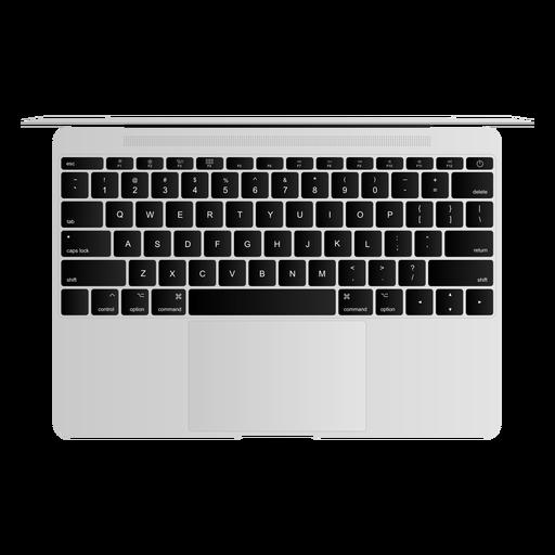 Keyboard netbook notebook laptop illustration Transparent PNG