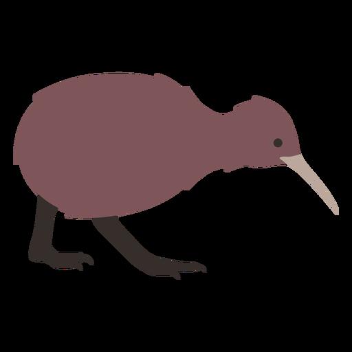 Kiwi beak leg flat Transparent PNG