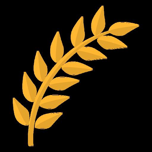 Caule da folha plana Transparent PNG