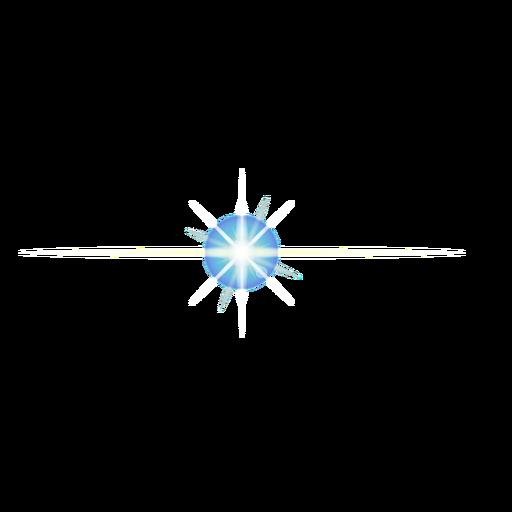 Lens patch of light speck of light beam ray spot