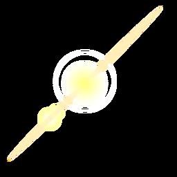 Lente parche de mota de luz de haz de rayos de luz