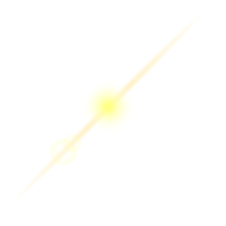 Linsenfleck aus Lichtfleck des Lichtstrahls