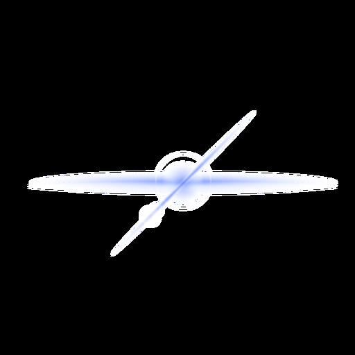 Parche de lente de mancha de luz de la cruz del haz de rayos de luz